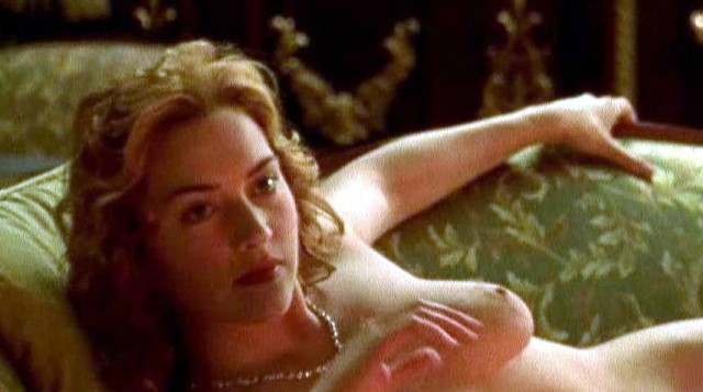winslet titanic drawing Kate nude