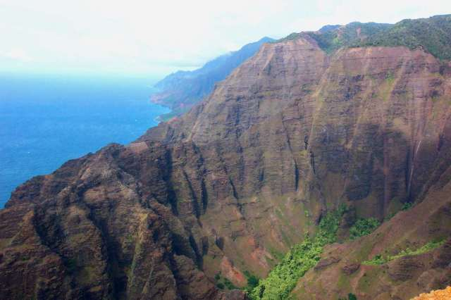 10A - Na Pali Coast Cliffs 1991