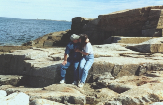 25 - Near Shore Exit that saved our lives in August 1987 - Photo Taken on Aug 2nd  2004 - 17th Aniversary