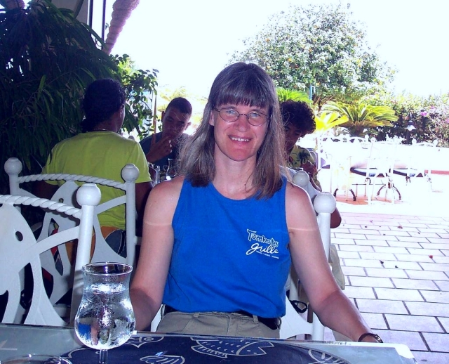28 - Jean in Bonaire - 2005